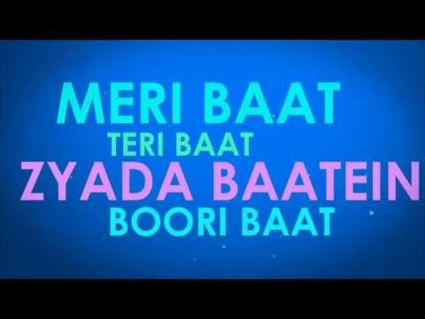Badtameez Dil Lyrics Video | Yeh Jawani...