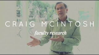 Professor Craig McIntosh on financial development in poor countries