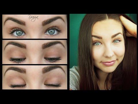 Макияж для серых глаз. Урок макияжа 7