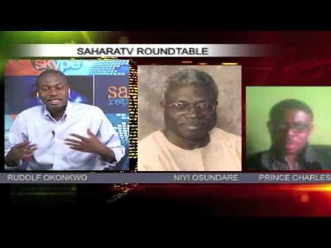 Roundtable with Niyi Osundare & Prince Charles Dickson