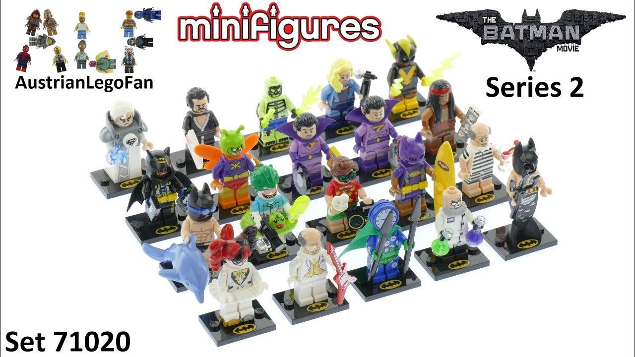LEGO Batman Movie Series 2 COMPLETE SET OF 20 MINIFIGURES SEALED 71020