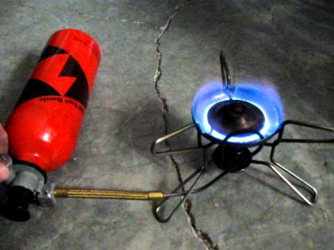 Life of Brian: How to safely light a camping stove (MSR