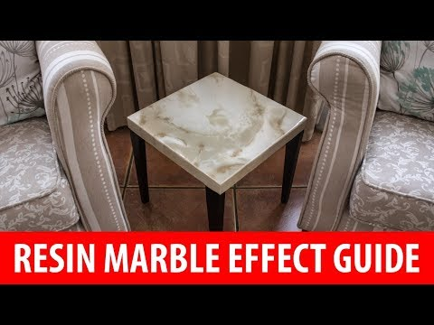 Resin Marble Effect Guide