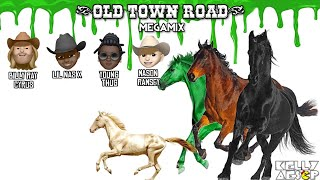 Lil Nas X - Old Town Road MEGAMIX (ft. Billy Ray Cyrus, Young Thug, & Mason Ramsey)