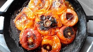 সহজ ও মজাদার টমেটো ভর্তা -  পোড়া টমেটো ভর্তা | Tomato Vorta - Bangladeshi Recipe Tomato Vortar Video