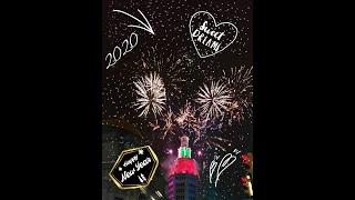 fireworks Happy new year 2020 newyork NewYear