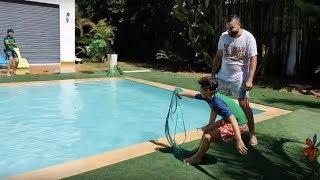 challenge avec une corde