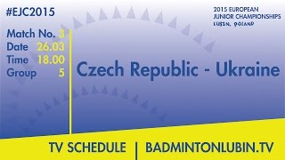 Czech Republic - Ukraine #EJC2015 Lubin, Poland