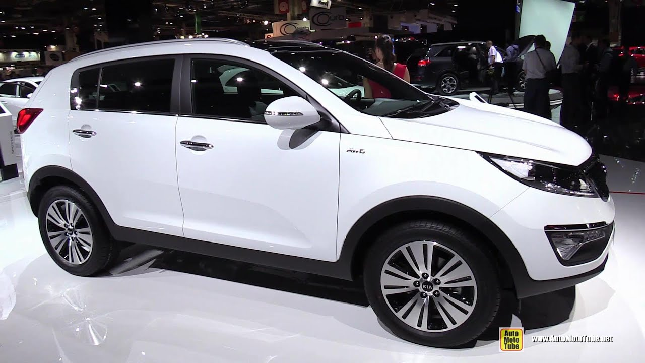 2015 kia sportage crdi diesel exterior and interior walkaround 2014 paris auto show youtube. Black Bedroom Furniture Sets. Home Design Ideas