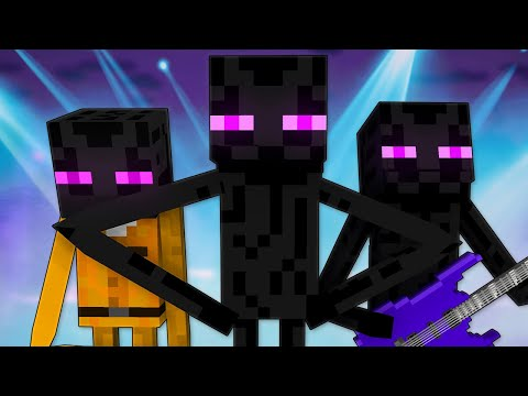 ЭНДЕРМЕН - Майнкрафт Песня | Enderman Minecraft Song Animation Parody Молния
