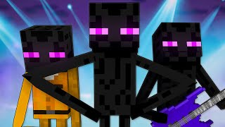 ЭНДЕРМЕН Майнкрафт Песня Enderman Minecraft Song Animation Parody