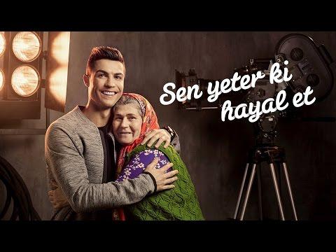 Türk Telekom – Cristiano Ronaldo ve Ümmiye Koçak Sen Yeter ki Hayal Et Reklamı
