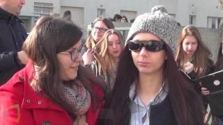 Des lycéens des Chaumes tournent pour France 3