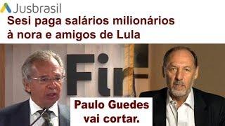 Paulo Guedes corta mais uma mamadeira do PT.