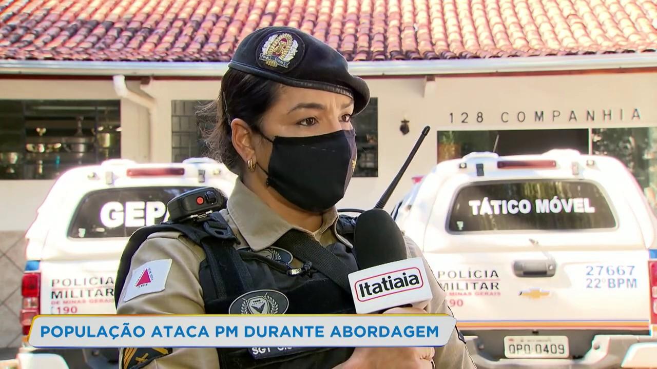 Moradores do Alto Vera Cruz entram em confronto com policiais militares