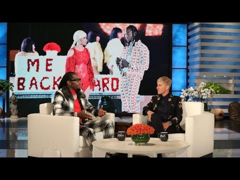 Kobi - Offset Chats With Ellen About Getting Cardi B Back And Gives Her A Surprise