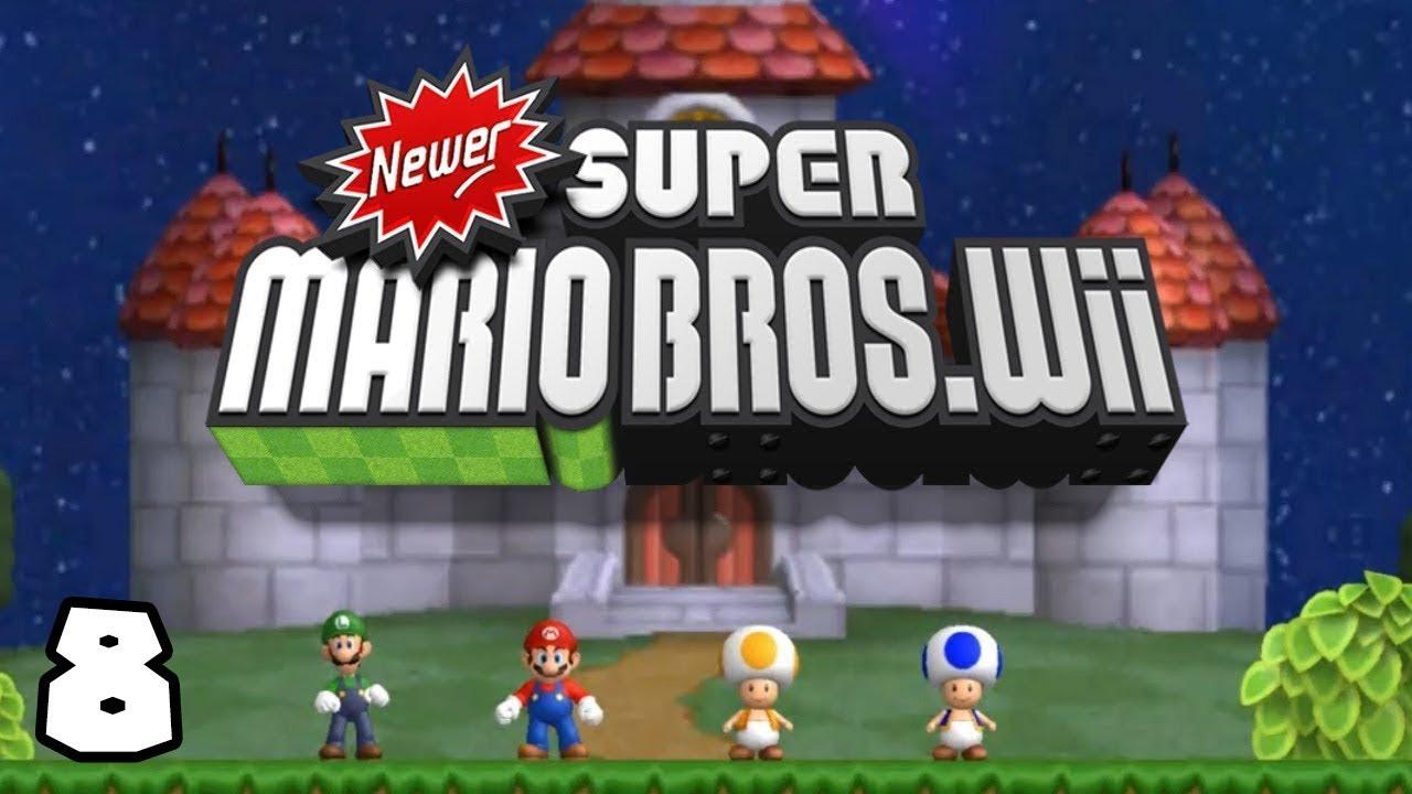 PC l Newer Super Mario Bros Wii l AL 100% l #8 l ¡EL SOL QUE ESTA  MAMADISIMO!
