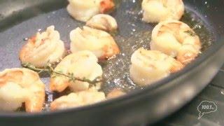 С приветом, Набутов!, Константин Ивлев, салат из киноа с креветками и авокадо
