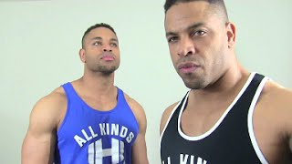 Bro Splits versus Full Body Training @hodgetwins