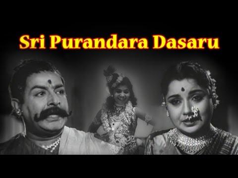 Sri Purandara Dasaru Full Kannada Movie 1963 | K S Ashwath, R Nagendra Rao.