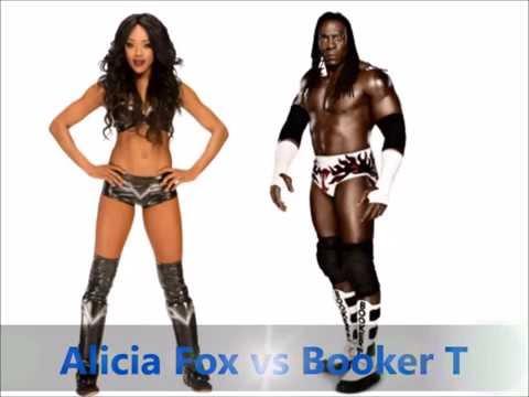 Alicia Fox vs Booker T- Scissors Kick