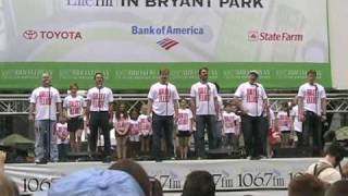 "Billy Elliot: ""Once We Were Kings"" at Bryant Park 8/13/09"
