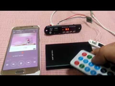 MP3 DIY - mp3 module + Pam8403 chip