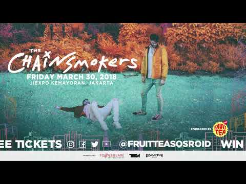 The Chainsmokers Live In Concert Jakarta 2018 Quiz