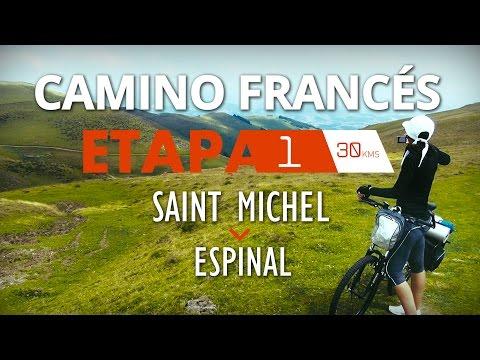 CAMINO DE SANTIAGO - CAMINO FRANCÉS - ETAPA 1. THE WAY OF SAINT JAMES - FRENCH WAY - STAGE 1