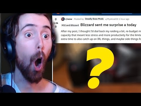 Asmongold Reacts To New Status Update From DBM Creator And Surprise From Blizzard!