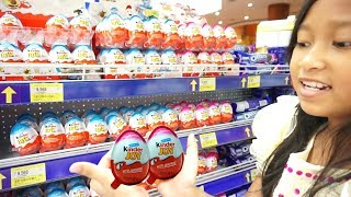 Jessica Jenica Beli Kinder Joy + Gelato Surprise di SUPERMARKET 💖 Apa Hadiahnya? 💖 Mainan Anak