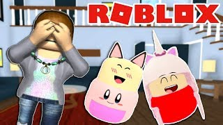 ROBLOX-HIDE and Seek FROM #TENTENÃORIR BABIES (Where's the Baby!)
