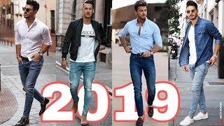 Outfits Hombres 2019 2020 Moda Casual Con Jeans Street Style Como Vestir Ropa Con Estilo Youtube