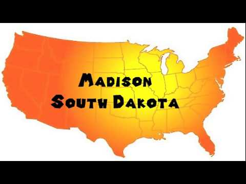 How to Say or Pronounce USA Cities — Madison, South Dakota