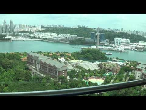 Singapore. Sentosa Tiger Sky Tower. Full ride.