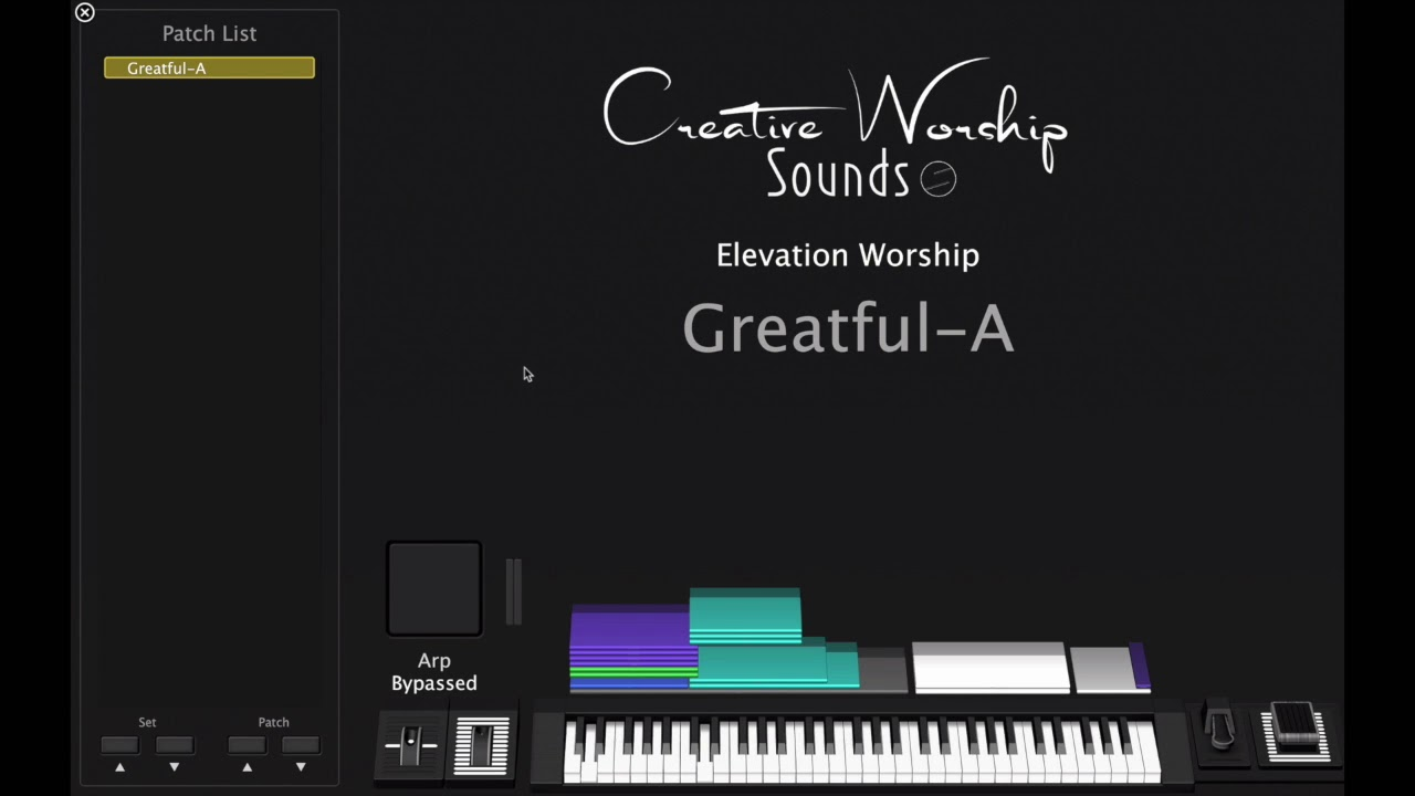 Grateful-Elevation Worship Mainstage 3 patch