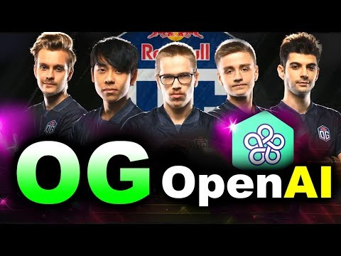 OG vs OpenAI FIVE - AI vs HUMANS - TI8 CHAMPIONS vs BOTS FINAL DOTA 2 thumbnail