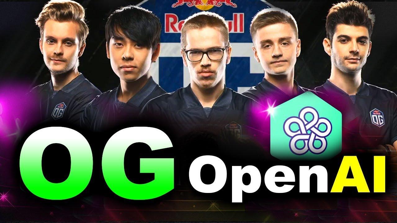 OG vs OpenAI FIVE - AI vs HUMANS - TI8 CHAMPIONS vs BOTS FINAL DOTA 2
