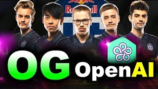 OG vs OpenAI FIVE - AI vs HUMANS - TI8 CHAMPIONS vs BOTS FINAL DOTA 2