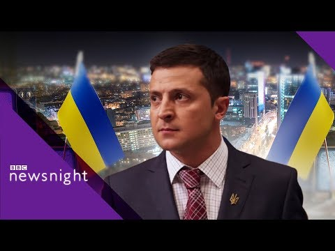 Could this comedian be Ukraine's next president? - BBC Newsnight