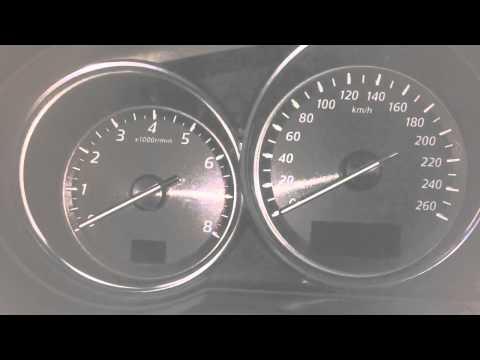 Запуск Mazda CX-5 с 7 раза.