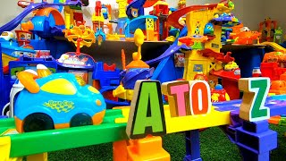 Letter Hunt 2019! Smart Wheel City: Letter Hunt 2019! All 26 letters - Smart Wheels Alphabet Game