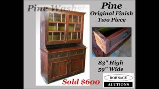 Rob Sage Pottageville Auction Results Oct6 2012