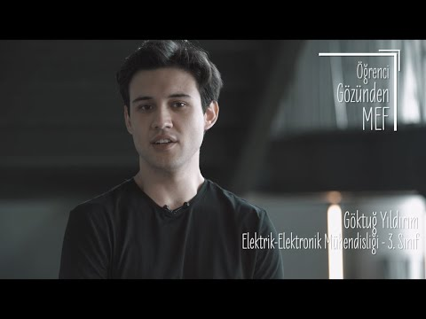 Öğrenci Gözünden MEF Üniversitesi / Göktuğ Yıldırım - Elektrik Elektronik Mühendisliği