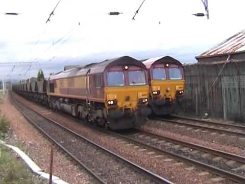 Eastfield Depot & Coatbridge Central On 28 & 29/9/04