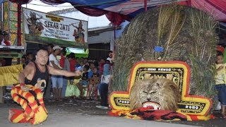 Reog Kesurupan Ngamuk ke Penonton & Atraksi Extrem,Pada Kabur-Jaranan Banyuwangi