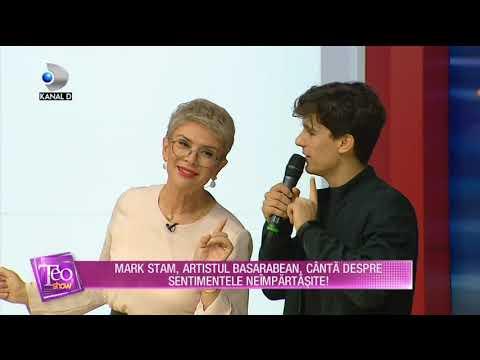 Teo Show - Mark Stam, artistul basarabean, canta despre sentimentele neimpartasite!