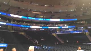 Madison Square Garden's from my seat
