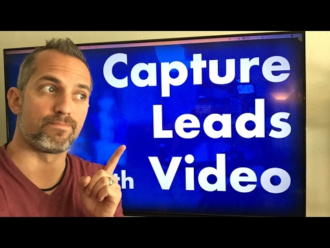How to capture leads from video