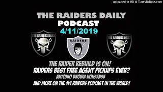 FIXED* The Raiders Daily Podcast: Rebuild, Free Agency & more!!